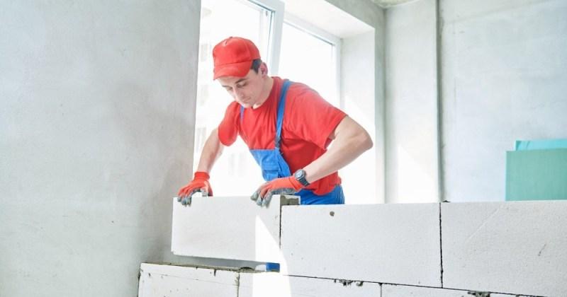 metode pemasangan bata ringan