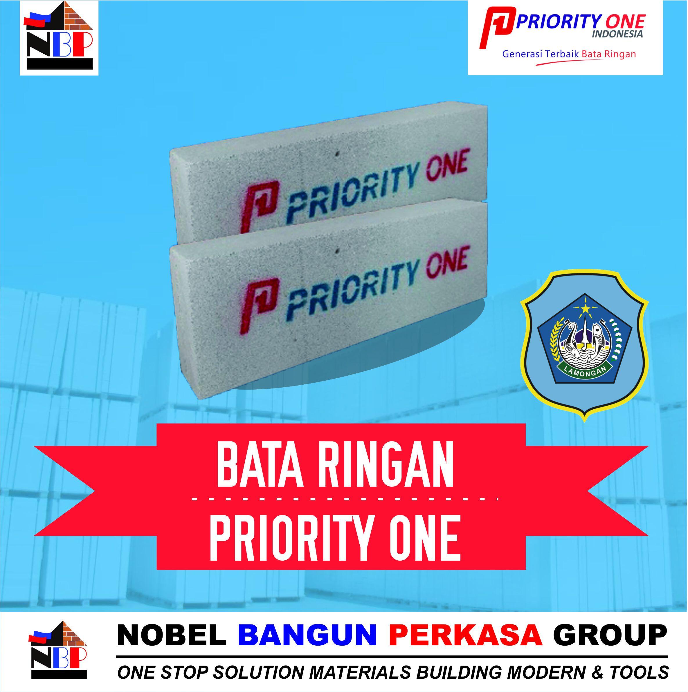 bata ringan priority one lamongan