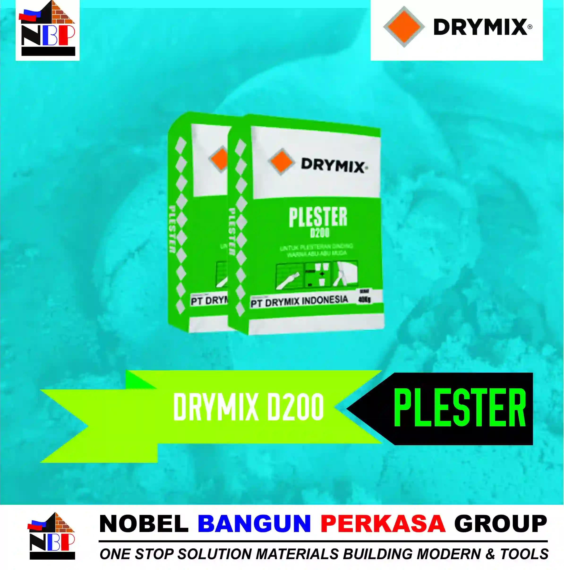 drymix d200 plester