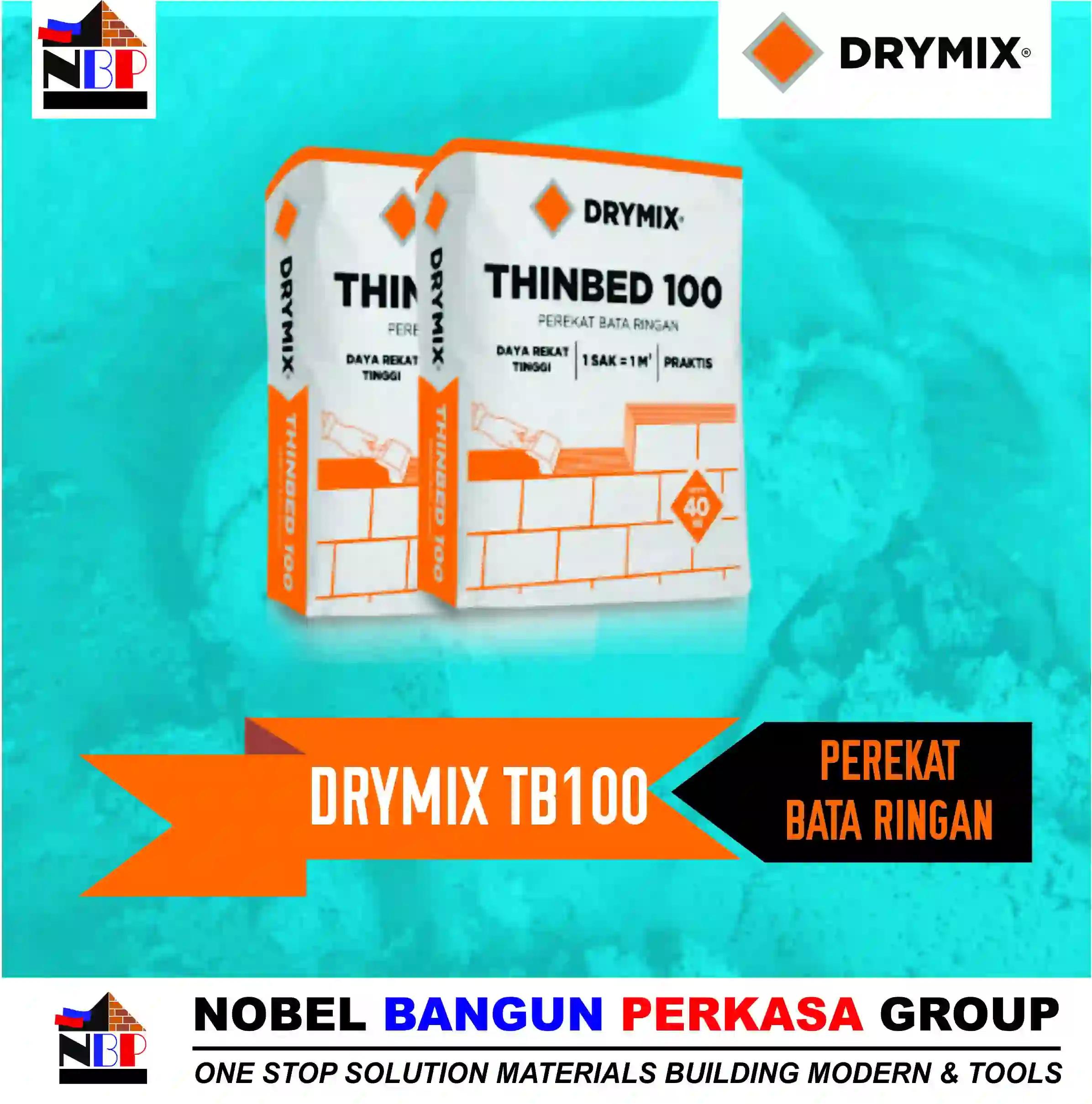drymix tb 100 perekat bata ringan hebel