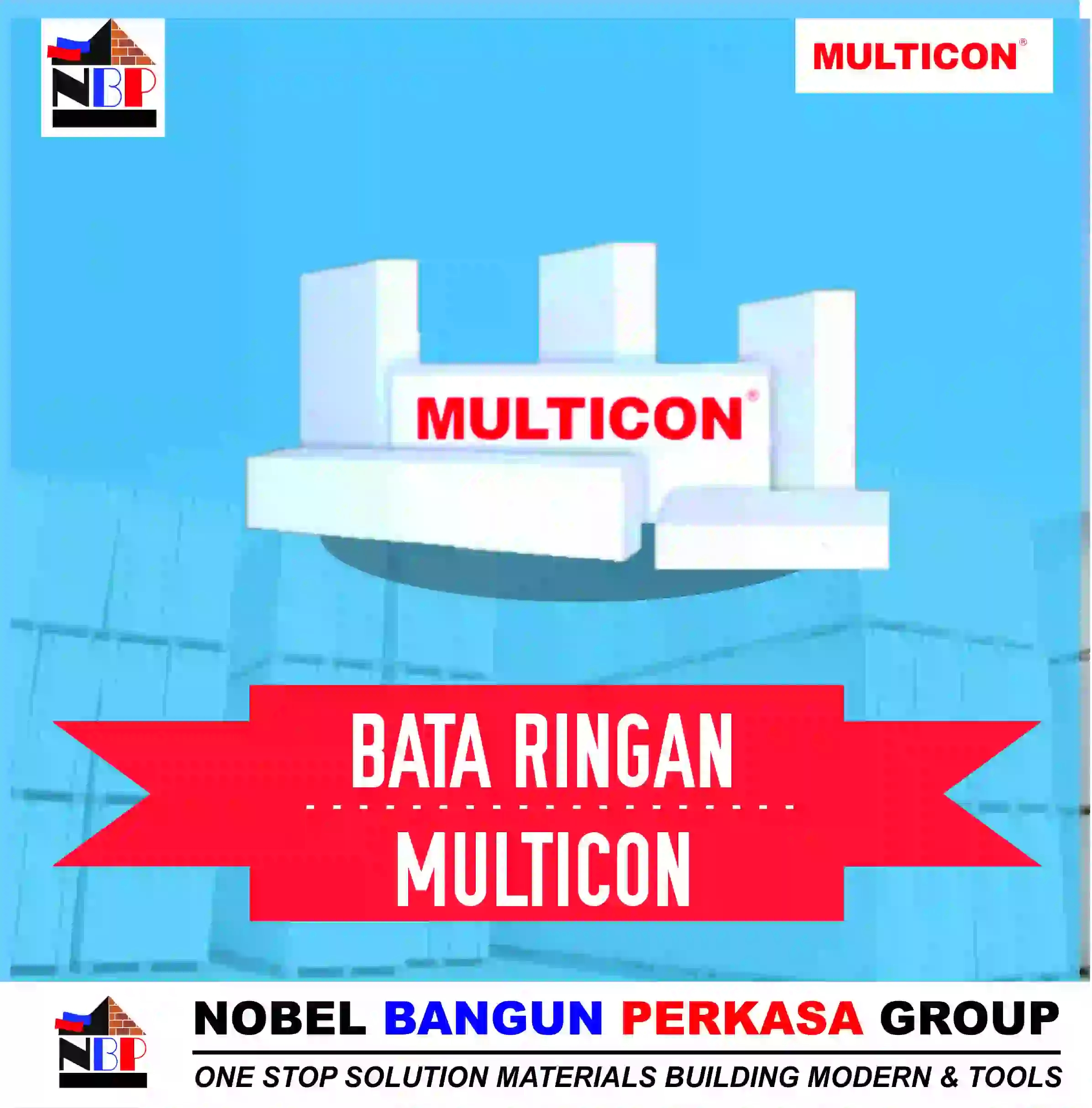 produk bata ringan hebel multicon