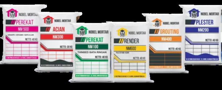 produk semen nobel mortar
